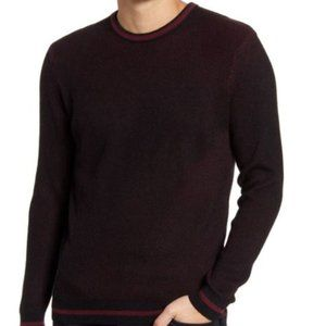 Vince Camuto | NWT Tipped Crew Neck Sweater | L